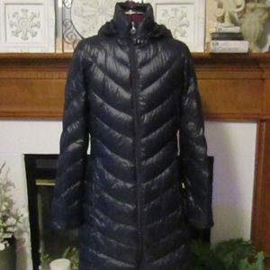 CALVIN KLEIN Women's Premium Down Coat SZ S Wow!